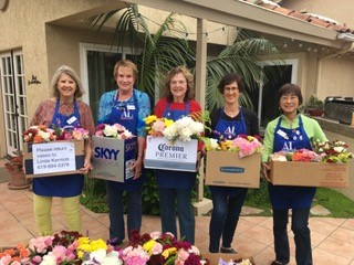 "Dramm & Echter Donates to the ""Flowers for Seniors"" Project"